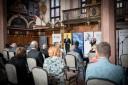 Na zdjęciu uczestniczy konferencji zorganizowanej przez Sztab Kryzysowy Pomorskich Pracodawców
