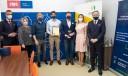Na zdjęciu laureaci konkursu oraz przedstawiciele organizatorów - Gdańskiego Urzędu Pracy i Pracodawców Pomorza